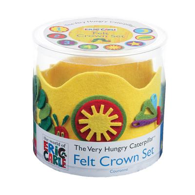 Eric Carle the Very Hungry Caterpillar Felt Crown Set By Carle, Eric (ILT)